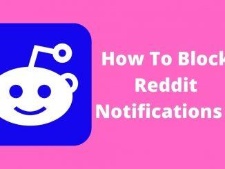 How To Block Reddit Notifications
